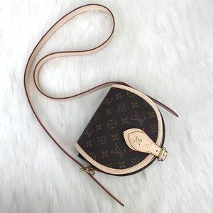 Louis Vuitton Sac tambourin 100% vejital leather